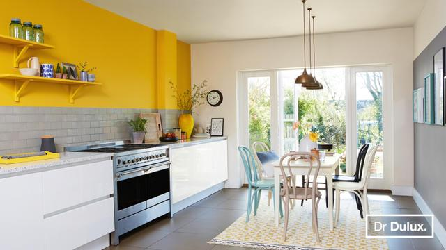 Adding Colour to kitchens