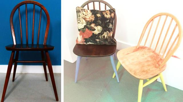 Trick to Try: Upcycled Chair