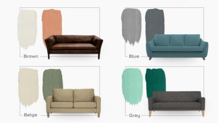8 Colours for Sofa
