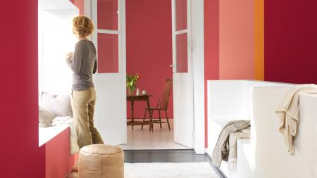 Try our creative Dulux colour choices to make a great first impression when guests visit your new home.