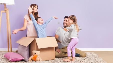 Most new movers are itching to get decorating straight away, especially if they have a family to settle into their new space.