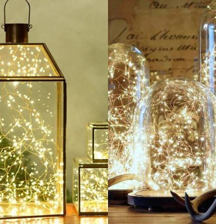 Magical Christmas Lighting- Bell jar